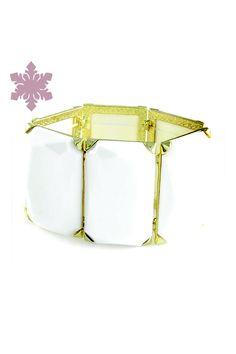 Pulseira Luxo White R$38.00