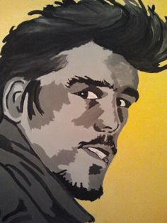 Retro by PaintingsThatPop on Etsy, $25.00