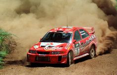 Mitsubishi Lancer Evo 5 of Tommi Makinen at 1998 Rally Australia