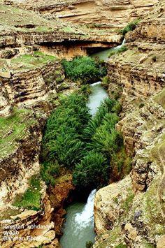 """Khorchi kesh Valley"" Kohdasht, Syaab region, Lorestan Province, Iran (Persian: تنگه ی خورچی کش, کوهدشت, منطقه ی سیاو,  لرستان) Credit: Bahman Ebrahimi"