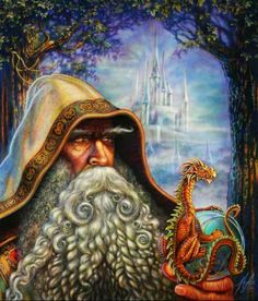 """Miles Pinkney - new magic and fantastic figures """"Fantasy, fantasy, game."""