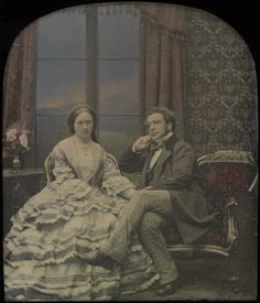 Victorian Couple, 1850s – costume cocktail