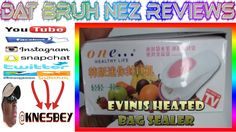 EVINIS ONE HEALTHY LIFE HEATED BAG SEALER