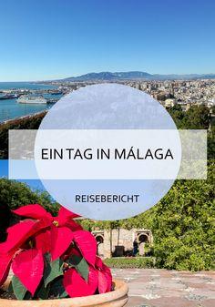Was du an einem Tag alles in Málaga unternehmen kannst, liest du hier! Die wunderschöne Stadt in Andalusien bietet für Tagesgäste viele Möglichkeiten und ist reich an Sehenswürdigkeiten. #malaga #andalusien #aneinemtag #eintag #tagesausflug #städtetrip #stadtammeer #reise #travel #reiseblogger #reisebericht #spanien #mittelmeer Costa, Reisen In Europa, Top Travel Destinations, Travel Companies, Spain And Portugal, Andalusia, Spain Travel, Where To Go, Travel Guide