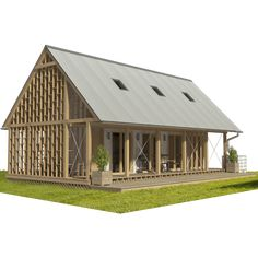 Are A-frame Cabin Kits Worth it? Wooden House Plans, Small Wooden House, Wood Plans, Small Houses, Wood Frame House, A Frame Cabin, Building Costs, Building A House, Building Ideas