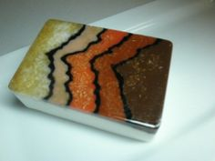 Look at what can be done with mp soap - wood inspired soap- Amazing by Kokolele #meltandpoursoap #soap #kokolele