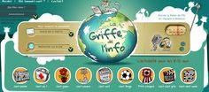 Site enfant   Actualités pour enfants & jeunes   Griffe Info  http://www.griffe-info.com/#