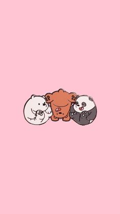 Crazy Wallpaper, Funny Phone Wallpaper, Flowery Wallpaper, Drawing Wallpaper, Bear Wallpaper, Disney Wallpaper, We Bare Bears Wallpapers, Panda Wallpapers, Cute Cartoon Wallpapers