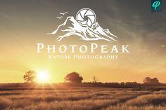 PhotoPeak - Photography Logo Design by PenPal on @creativemarket