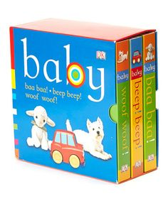 Take a look at this Chunky Baby Board Book Set by Penguin Group (USA) on #zulily today!
