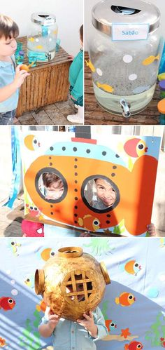Under The Sea Bday Party