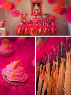 """Karlie's turning two and there's just one thing to do, have a tutu party but we also need you. If your a guy and tutu's just don't fly, don't worry she will have you a tie!"""""""