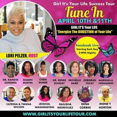 TUNE IN! Girl Greatness ...We are about to peek under the hood to take a look at what you need to REVITALIZE & ENERGIZE the goals not achieved and dreams not lived. Tune In Live on Facebook at this link - https://ift.tt/2GGk1Ki I'm Live with Lori Pelzer Tuesday April 10th 6:30 -7 PM EST. Dr. Renee Sunday #girlgreatness #purpose #dreams #facebooklive #loopforwomen #loopforboss #energize #revitalize #platformbuilder