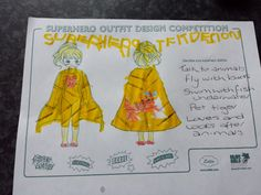 Lottie, age 4, Ayrshire, Scotland. Superhero abilities: She's an animal superhero, her favourite being the tiger so her costume is tiger themed. She has the ability to talk to animals, fly like a bird, swim like a fish and she loves all animals.