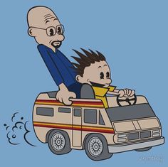 breaking-bad-Walter-and-Jesse-as-Calvin-and-Hobbes