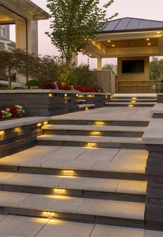 50 most amazing side yard landscaping ideas to beautify your garden 3 ~ Beautiful House Lovers Outdoor Steps, Patio Steps, Patio Design, Exterior Design, Garden Design, Side Yard Landscaping, Backyard Patio, Landscaping Ideas, Outdoor Light Fixtures