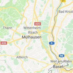 Ausflugsziele Schweiz: 99 Ideen für einen tollen Tagesausflug Basel, Map, Day Trips, Road Trip Destinations, Switzerland, Hiking, Location Map, Peta, Maps