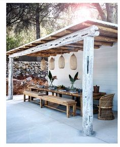 my scandinavian home: 7 Boho Ideas for Outdoor Spaces (Big and Small)! my scandinavian home: 7 Boho Ideas for Outdoor Spaces (Big and Small)! Outdoor Rooms, Outdoor Gardens, Outdoor Pergola, Pergola Kits, Outdoor Living Spaces, Backyard Patio, Small Pergola, Diy Pergola, Rustic Outdoor Spaces