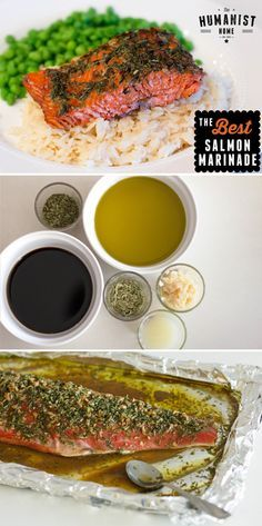 Recipe - The Best Salmon Marinade Ever! Can be cooked on the BBQ or in the oven