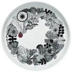 Siirtolapuutarha serving dish - Ø 32cm - Marimekko