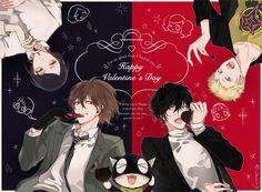 Akechi & Akira | Persona 5 by @_imaing on Twitter