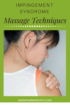 These massage techniques are of great value in impingement syndrome pain relief; circulation stimulation; dispersing blood and fluid accumulations; swelling reduction; and relaxing muscle spasms, especially when used alongside the Sinew Therapeutics liniments and soaks.