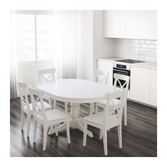 INGATORP Extendable table  - IKEA Might be a good option in the event more than four play a game