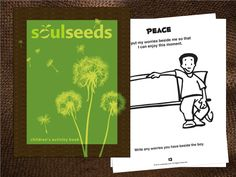 This is a fun activity book for children ages 5-10yrs. Each of the 30 pages has a positive affirmation and mindful activity. This activity book will help bring attention to positive thoughts in a fun and creative way. This book is also a great resource for classrooms and community groups. $12