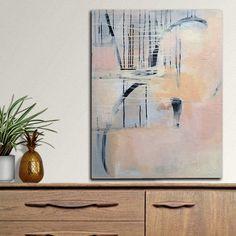 Image of Wonderland 24x30 Original on Canvas contemporary abstract art - Instagram @eva_alessandria