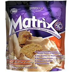 Syntrax Matrix Whey Protein, Peanut Butter Cookie, 5 Pound *** Click image for more details. (This is an affiliate link) #SportsNutrition