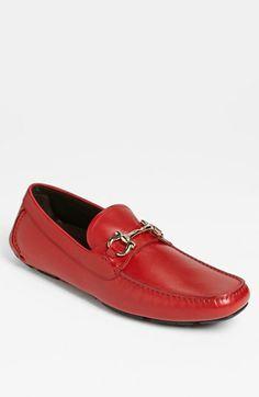 These  are so Puerto Rican-  Salvatore Ferragamo 'Parigi' Driving Shoe available at #Nordstrom