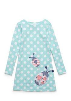 J. Khaki  Ladybug Dress Girls 4-6X