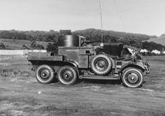 Lanchester armoured car of 'A' Squadron, 12th Royal Lancers (Prince of Wales's), c1935: the mechanisation of the British Cavalry began in 1928.