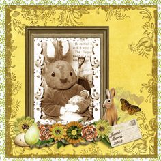 """""""Jacob's 1st Easter Bunny"""" from the gallery at Real Life Scrapped"""