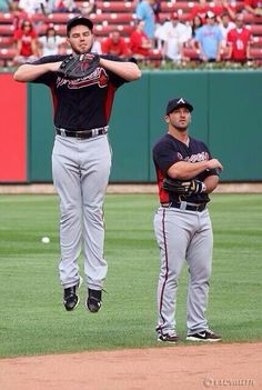 Freddie Freeman and Dan Uggla, from Heather McDaniels