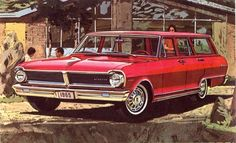 1965 ACADIAN CANSO STATION WAGON