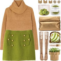 An Apple a Day Outfit Idea 2017