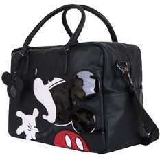 Amazon.com: Disney Vintage Mickey Mouse Oversized Casual Travel Tote Luggage Duffel Bag (bag-097-3): Clothing