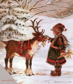 christmas scenes Christmas - Glitter Animations - Snow Animations - Animated images - Page 4 Illustration Noel, Christmas Illustration, Illustrations Posters, Noel Christmas, Winter Christmas, Christmas Glitter, Xmas, Reindeer Christmas, Christmas Mantles