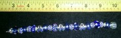 $25.00  Cancer Awareness Ribbon Bracelet Blue