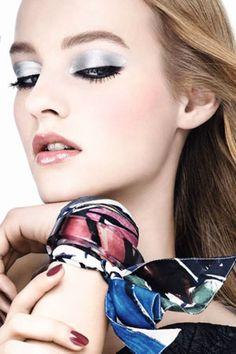 Métallique addict chez Dior