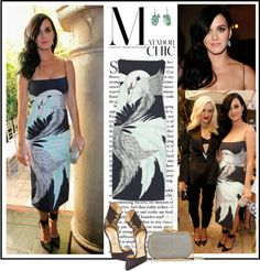 """Celebrity Style - Katy Perry at the 2012 CFDA/Vogue Fashion Fund Show"" by robilollo on Polyvore"