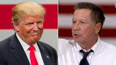 Download the free VoteWorthy app now to learn more about the #election2016: www.voteworthyapp.com  With fewer than two weeks until Election Day, Donald Trump is going after John Kasich, criticizing the Ohio governor for not backing him after the Republican presidential primary.