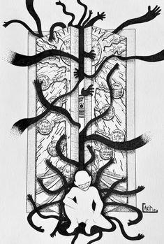 Fullmetal Alchemist Brotherhood, Body Art Tattoos, Tatoos, Truth Tattoo, Hunter Tattoo, Occult Tattoo, Manga Tattoo, Name Wallpaper, Dark Tattoo