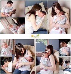 Newborn Photographer, natural home shooting.