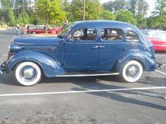 1937 Plymouth 4-Door Sedan. 6 cylinder engine, 3 speed manual.  v@e.