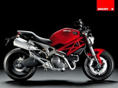 My husband's motorcycle...Ducati, le Monster 696