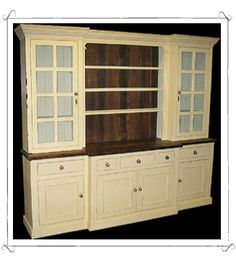 I love this hutch! It would look great in my dining room!  Google Image Result for http://www.englishliving.com/Images/Hutches/Country_Hutch_Buttermilk.jpg