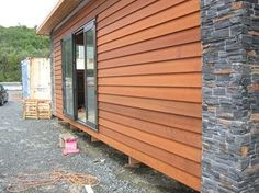 EX Bevelback Cedar Weatherboard for sale on Trade Me, New Zealand's auction and classifieds website Fascia Board, Building Renovation, East Street, Smooth Face, Board And Batten, Western Red Cedar, Stunningly Beautiful, Tiny Homes, Stables