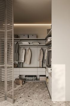 Bathroom Design Luxury, Home Interior Design, Interior Architecture, Modern Closet, Modern Room, Closet Colors, Closet Renovation, Minimalist Closet, Wardrobe Cabinets